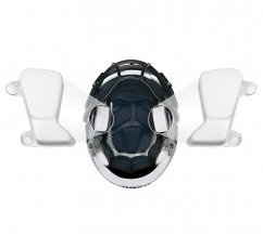 """Riddell Speed Inflatable S-Pad 3/4"""" Bianco"""