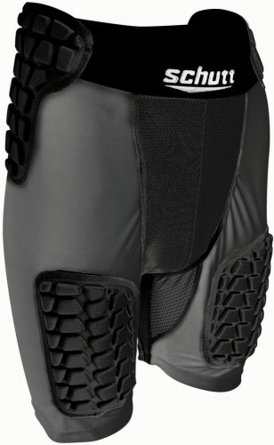 Schutt Varsity All-In-One ProTech Girdle Black