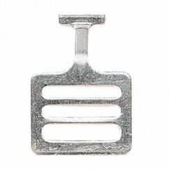 Shoulder Pads T-Hook Stainless Steel - 1""