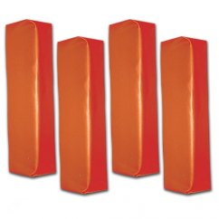 Football End Zone Pylons Set of 4 - Weighted