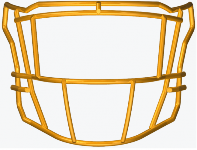 SF-2EG-SW SpeedFlex Facemask - Facemask Color: Gold SF
