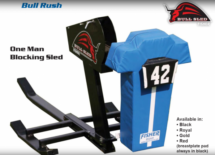 Fisher 1-Man Bull Rush Sled
