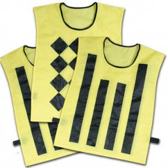 Football Sideline Vests Set of 3