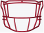 SF-2EG-SW SpeedFlex Facemask - Facemask Color: Scarlet SF