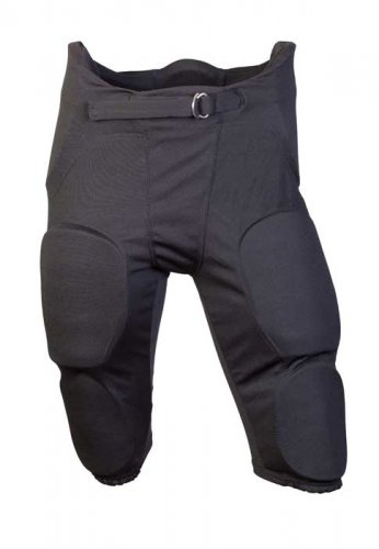 Football pants with integrated pads