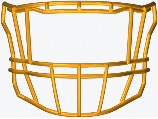 SF-2EG-II-HD SpeedFlex Facemask - Facemask Color: Gold SF