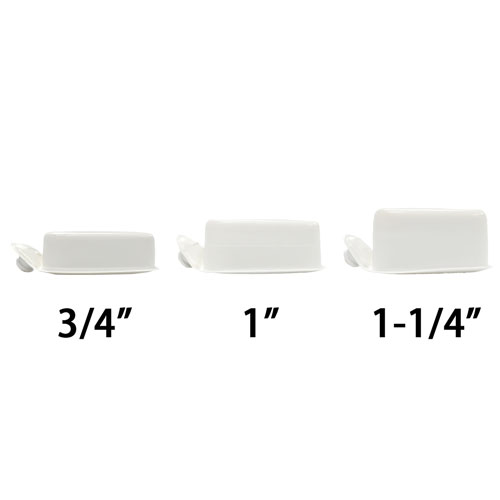 "Riddell Speed Icon Inflatable S-Pad White - Pad size - Thickness: 3/4"" - 1,90 cm"