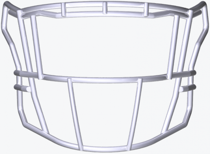 SF-2EG-SW-HD SpeedFlex Facemask - Facemask Color: White SF