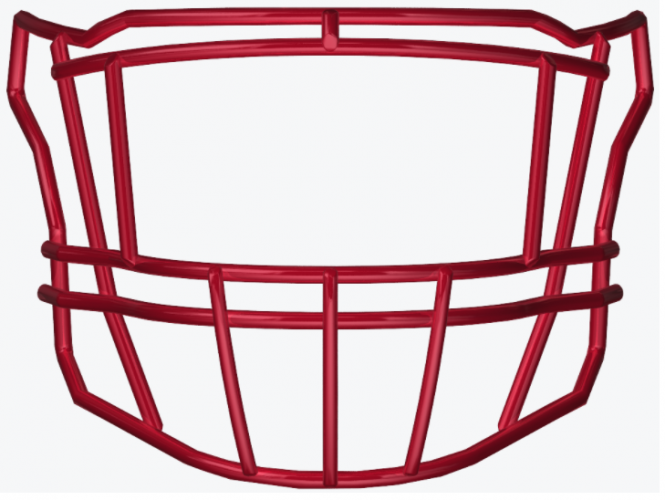 SF-2EG-II SpeedFlex Facemask - Facemask Color: Scarlet SF