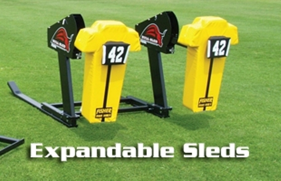 Fisher 2-Man Bull Rush Sled